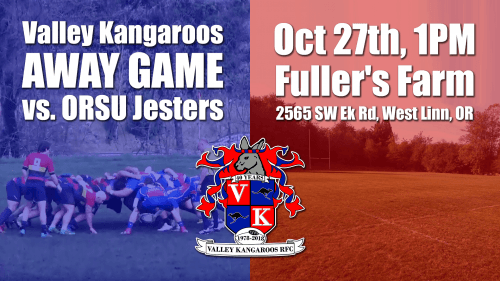 Valley Kangaroos vs ORSU Jesters @ Fuller's Farm | West Linn | Oregon | United States