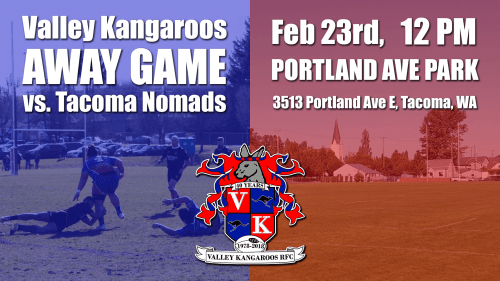 Valley Kangaroos vs Tacoma Nomads @ Pat Ryan Field | Seattle | Washington | United States