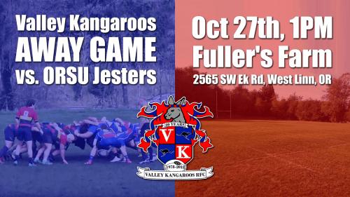 Valley Kangaroos vs ORSU Jesters @ Fuller's Farm | West Linn | Oregon | United States