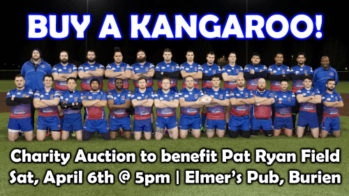 Valley Kangaroos Live Player Auction 2019 @ Elmer's Bar & Grill | Burien | Washington | United States