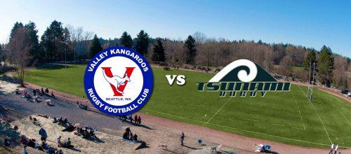 Valley Kangaroos vs Eastside Tsunami @ Pat Ryan Field | Seattle | Washington | United States