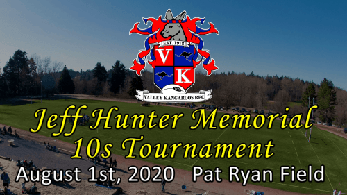 Jeff Hunter Memorial 10s Tournament 2020 @ Pat Ryan Field | Seattle | Washington | United States