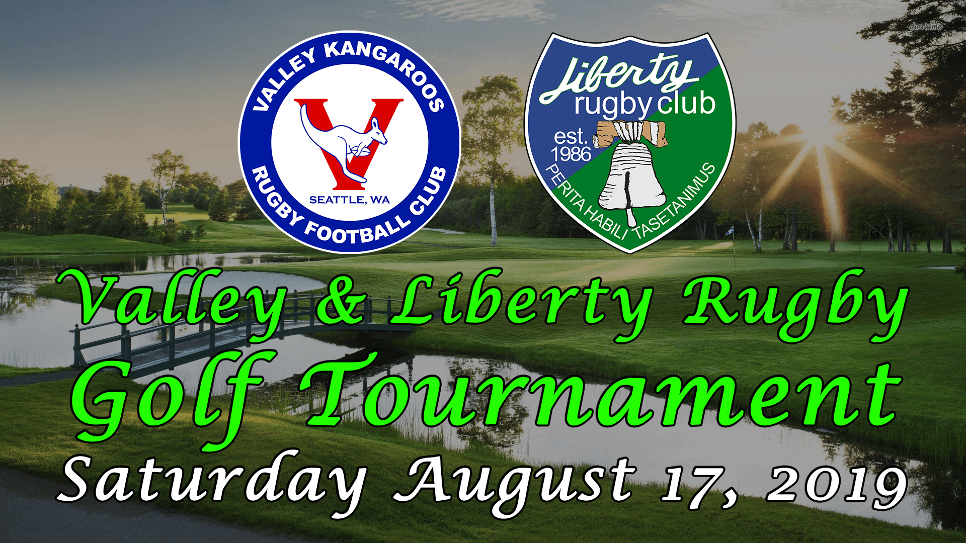 Valley Liberty Golf Tournament 2019 Valley Kangaroos Rugby Football Club