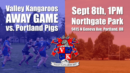 Valley Kangaroos vs Portland Pigs @ Northgate Park | Portland | Oregon | United States