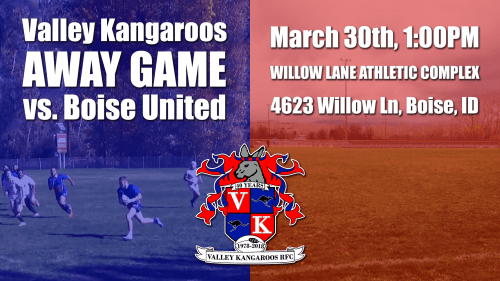 Valley Kangaroos vs Boise United @ Willow Lane Athletic Complex | Boise | Idaho | United States