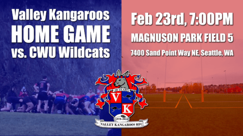 Valley Kangaroos vs CWU Wildcats @ Magnuson Park Field #5 | Seattle | Washington | United States