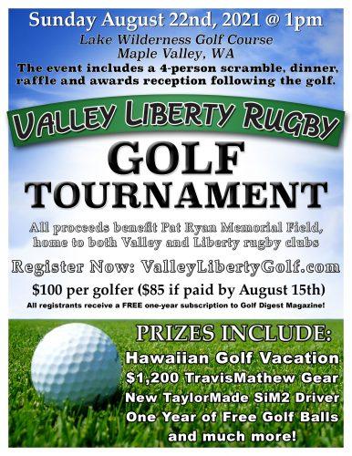 Valley/Liberty Golf Tournament 2021 @ Lake Wilderness Golf Course | Maple Valley | Washington | United States